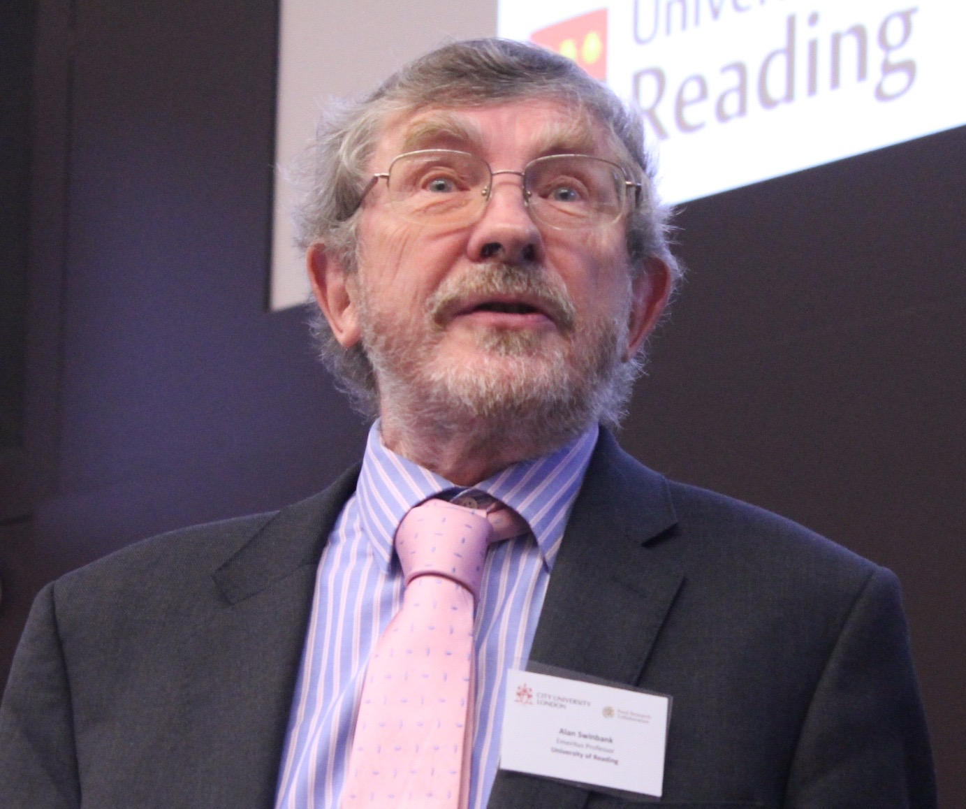 Professor Alan Swinbank at City University Food Symposium, December 2015